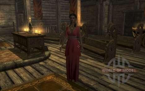 Компаньонка Эрения Цезония для Skyrim третий скриншот