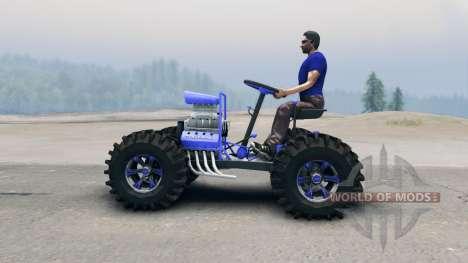 Квадроцикл v3 для Spin Tires