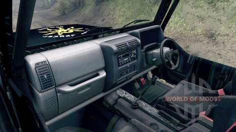 Jeep Wrangler SID для Spin Tires