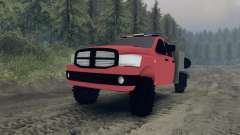 Dodge Ram 1500 brush truck для Spin Tires