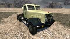КрАЗ-258 для BeamNG Drive