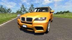 BMW X5M Orange для BeamNG Drive