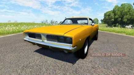 Dodge Charger RT 1970 для BeamNG Drive