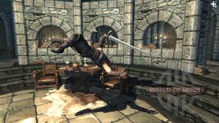 Силовой толчок для Skyrim