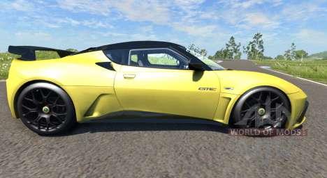 Lotus Evora GTE 2011 [Yellow] для BeamNG Drive
