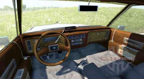 Cadillac De Ville 1984 для BeamNG Drive