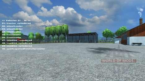 FastSwitcher v1.3 для Farming Simulator 2013