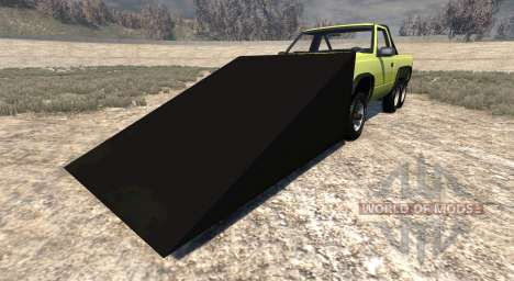 Gavril D-Series 6x6 springboard для BeamNG Drive