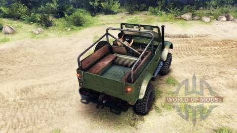 ГАЗ-69М для Spin Tires