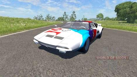 De Tomaso Pantera 1972 для BeamNG Drive