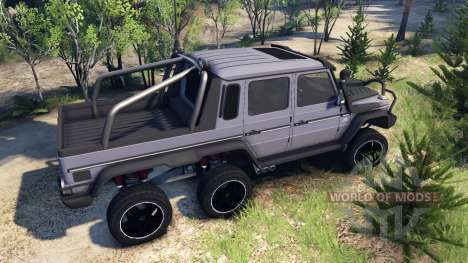 Mercedes-Benz G65 AMG 6x6 Ultimate для Spin Tires