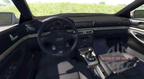 Audi S4 2000 [Pantone Purple C] для BeamNG Drive
