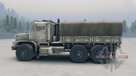 Oshkosh MTVR MK23 wheels v1 для Spin Tires