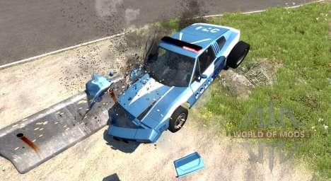 Civetta Bolide Police Interceptor для BeamNG Drive
