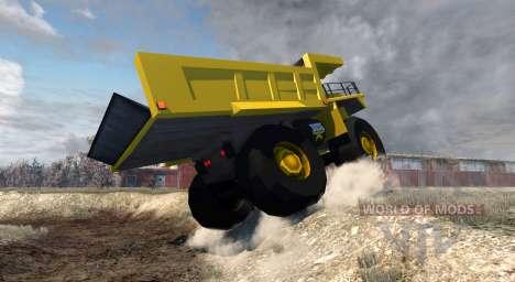 Dumper Minero для BeamNG Drive