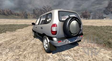 ВАЗ-21236 Chevrolet Niva для BeamNG Drive