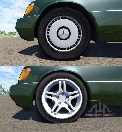 Mercedes-Benz S600 AMG для BeamNG Drive