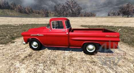 Chevrolet Apache 1958 Fleetside для BeamNG Drive