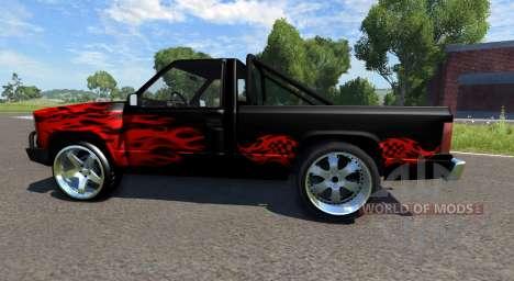 Gavril D-Series DRAG для BeamNG Drive