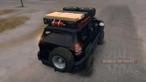 Toyota Land Cruiser Prado Extreme v.3.0 для Spin Tires