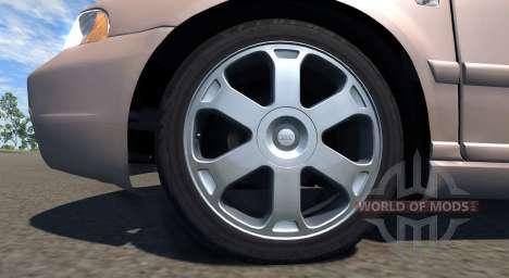Audi S4 2000 [Pantone 7513 C] для BeamNG Drive