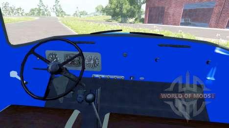 ЗиЛ-130В1 с полуприцепом Steel horse carriage для BeamNG Drive