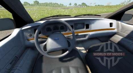 Ford Crown Victoria 1999 для BeamNG Drive