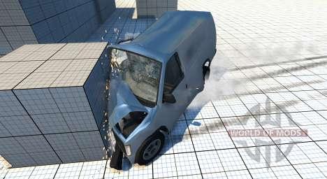Gavril H-Series Mini Van для BeamNG Drive
