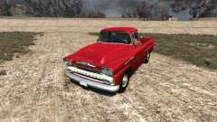 Chevrolet Apache 1958 Fleetside для BeamNG Drive