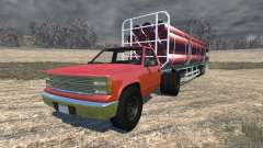 Gavril D-Series full size logging trailer для BeamNG Drive