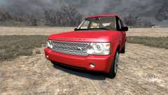 Range Rover Supercharged 2008 [Red] для BeamNG Drive