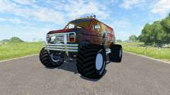 Ford E-250 Monster для BeamNG Drive