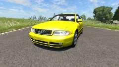 Audi S4 2000 [Pantone Yellow 012 C] для BeamNG Drive