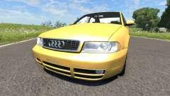 Audi S4 2000 [Pantone 804 C] для BeamNG Drive