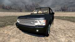 Range Rover Supercharged 2008 [Black] для BeamNG Drive