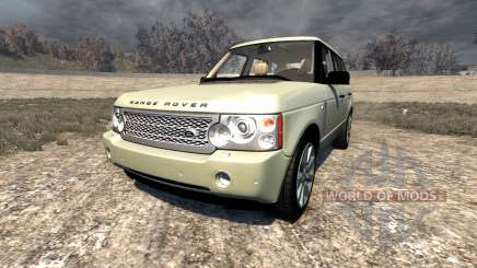Range Rover Supercharged 2008 [Beige] для BeamNG Drive