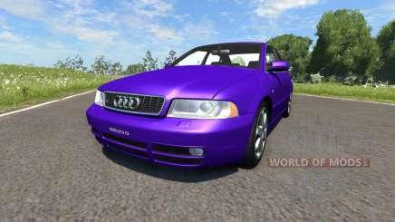 Audi S4 2000 [Pantone Violet C] для BeamNG Drive