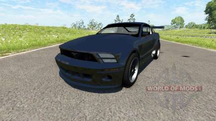 Ford Mustang GT-R Concept для BeamNG Drive