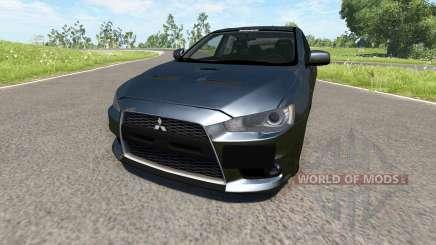 Mitsubishi Lancer Evolution X для BeamNG Drive