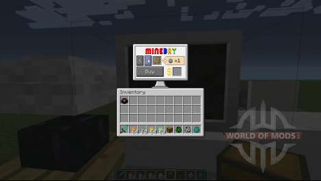 Монеты для Minecraft