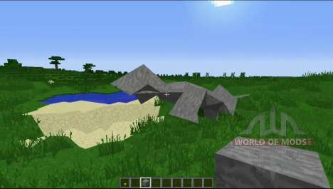 Долой квадратность для Minecraft