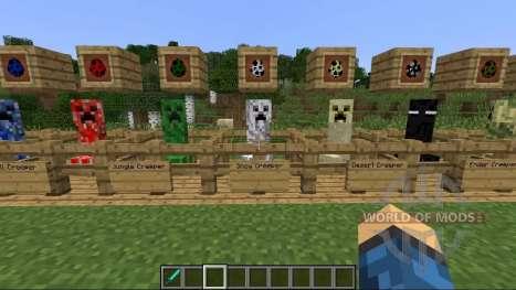 Новые крипперы для Minecraft