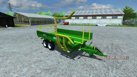 Тележка Sipma WS 6510 Dromader v1.1 для Farming Simulator 2013