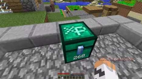 Сундук опыта для Minecraft