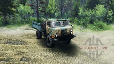 ГАЗ-66 v1.1 для Spin Tires