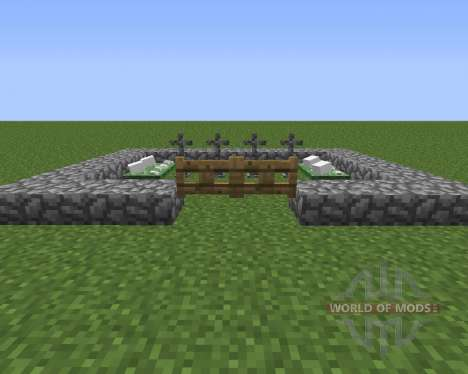 Gravestone Mod для Minecraft