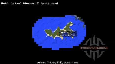 Миникарта для Minecraft