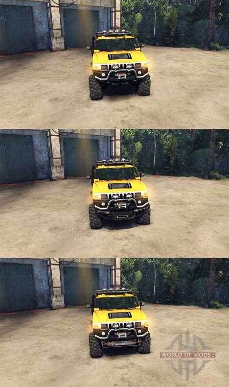 Hummer H2 SUT для Spin Tires