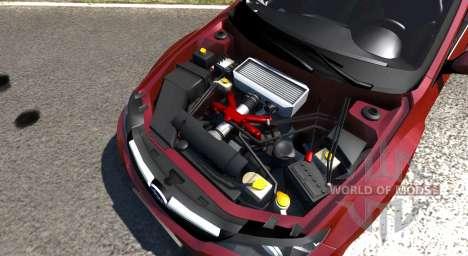 Subaru Impreza WRX STI 2011 для BeamNG Drive
