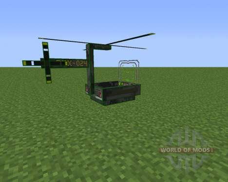 THX Helicopter для Minecraft